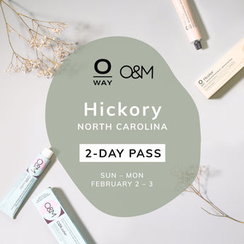 Oway + O&M 2-Day Ammonia-Free Color Class Pass [Hickory, NC • Feb 2-3]