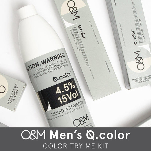 O&M Men's Q.color Try Me Kit