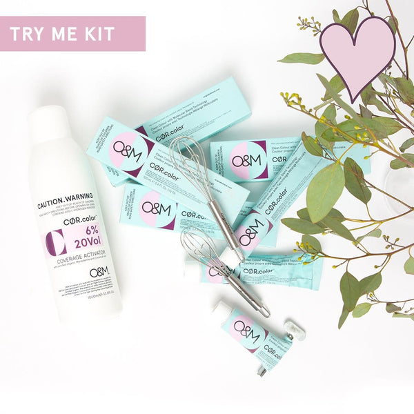 O&M COR.color Clean Color Try Me Kit
