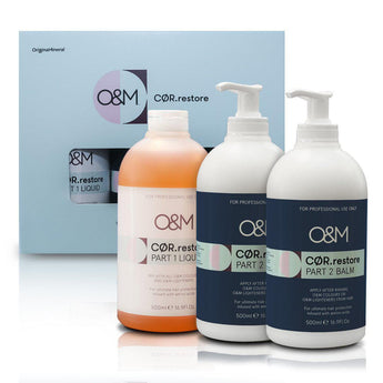 NEW! O&M CØR.restore Treatment Launch Kit