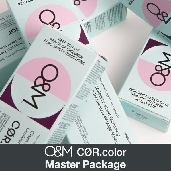 O&M CØR.color Master Package (SAVE 34%)