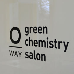 Oway Green Chemistry Salon Window Sticker