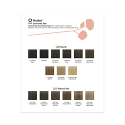 Oway Hcolor Color Paper Shade Chart
