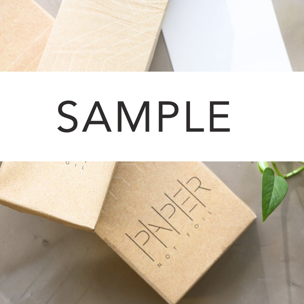 Paper Not Foil Sample Kit [10 Sheets of Each Size]