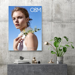 O&M Blue Skies Botanical Poster