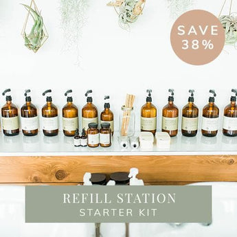 Oway Salon Refill Station Starter Kit (SAVE 28%)