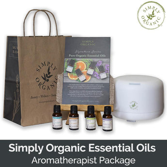 Simply Organic Essential Oils Aromatherapist Package (SAVE 31%)
