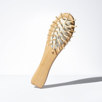 Simply Organic Wooden Logo Brush