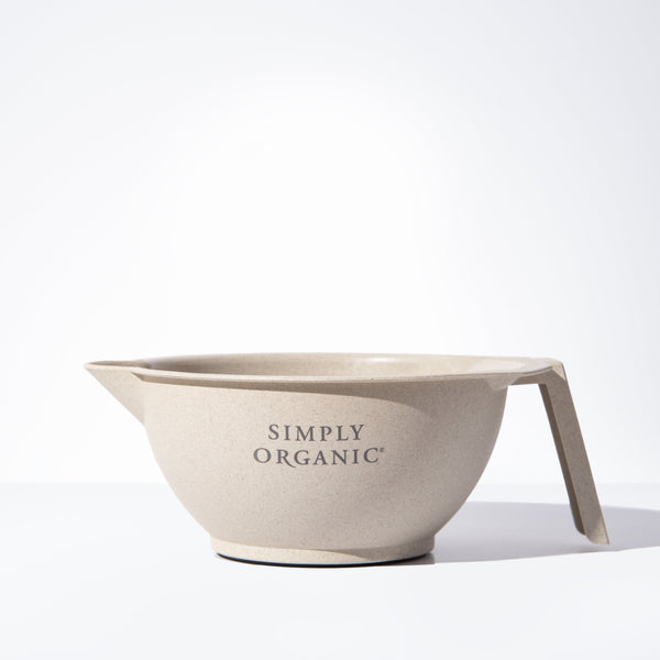 Simply Organic Sustainable Straw Color Mixing Bowl