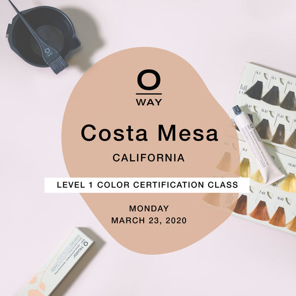 Oway Level 1 Certification Class: Costa Mesa, CA [Mar 23]