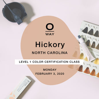 Oway Level 1 Certification Class: Hickory, NC [Feb 3]