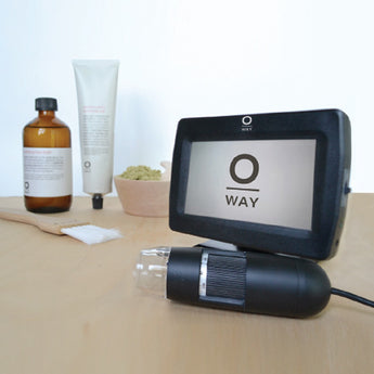 Oway Tricho-Analyzer: Hair + Scalp Microscope