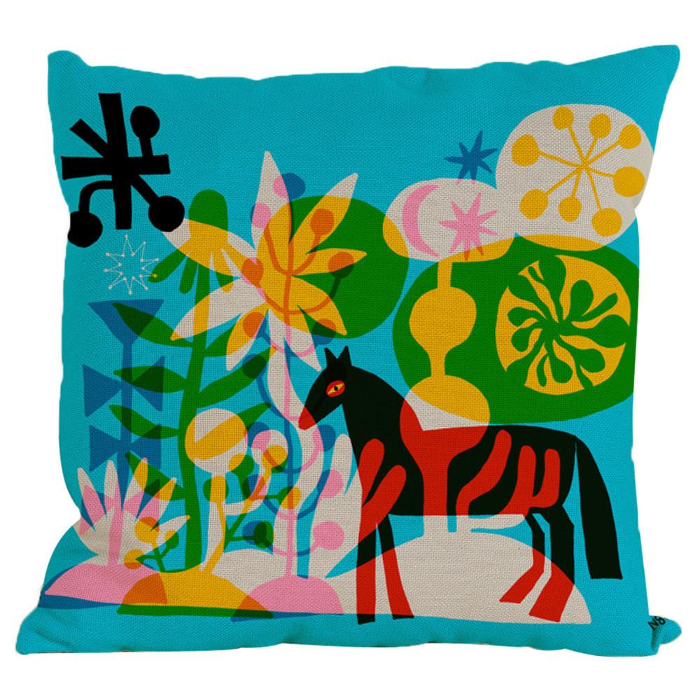 Pillow - Abstract Horse Pillow
