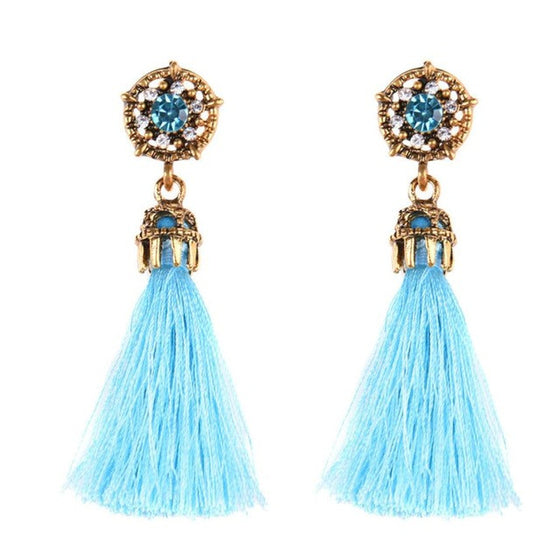 Bright and Fancy Tasse Earrings