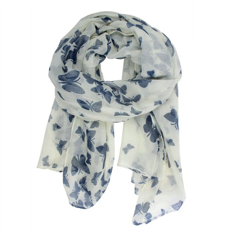 Butterfly Voile Scarf