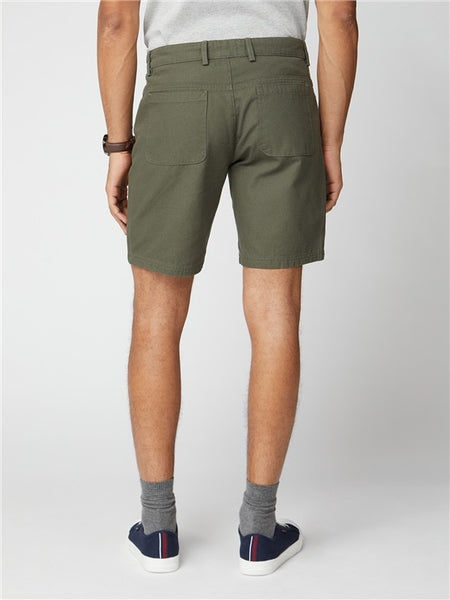 Ben Sherman Canvas Short Khaki