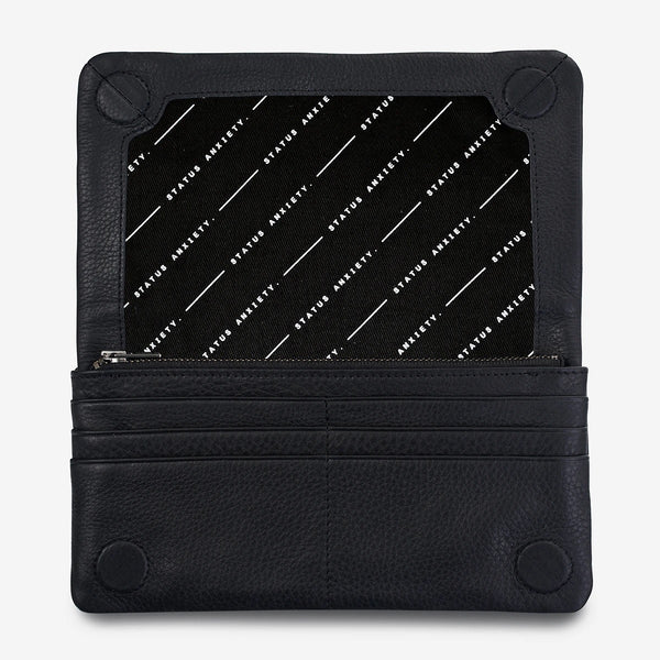 Status Anxiety Some Type of Love Wallet Black