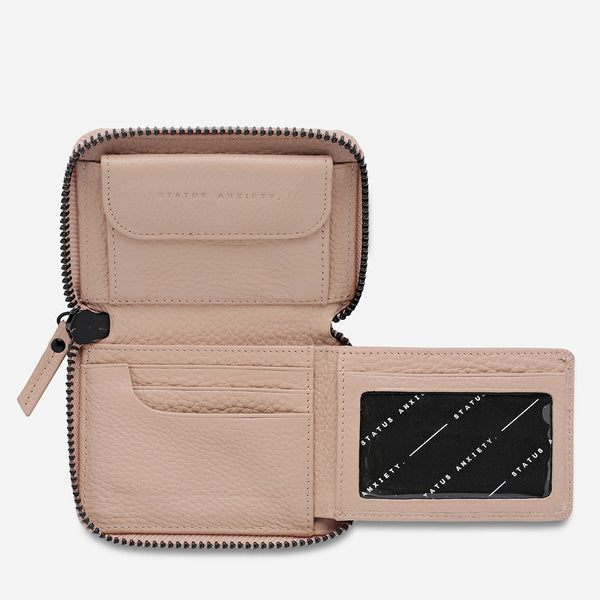 Status Anxiety Wayward Wallet Dusty  Pink