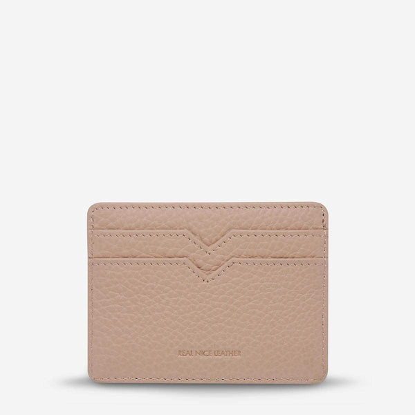 Status Anxiety Together For Now Cardholder Dusty Pink