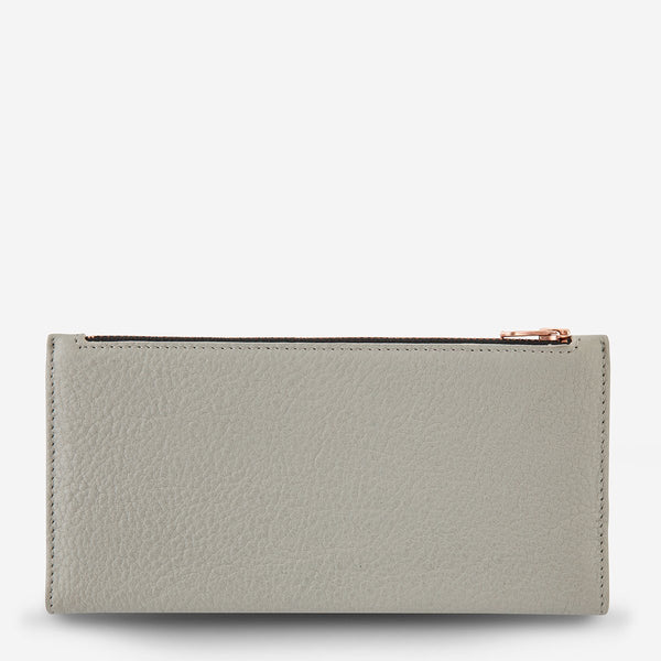 Status Anxiety In The Beginning Wallet Light Grey