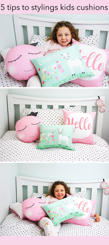 5 tips to styling kids cushions
