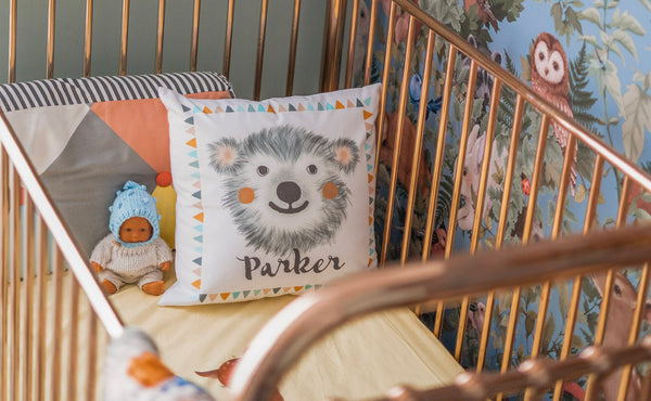 kids personalised name cushions - Happy Joy Decor