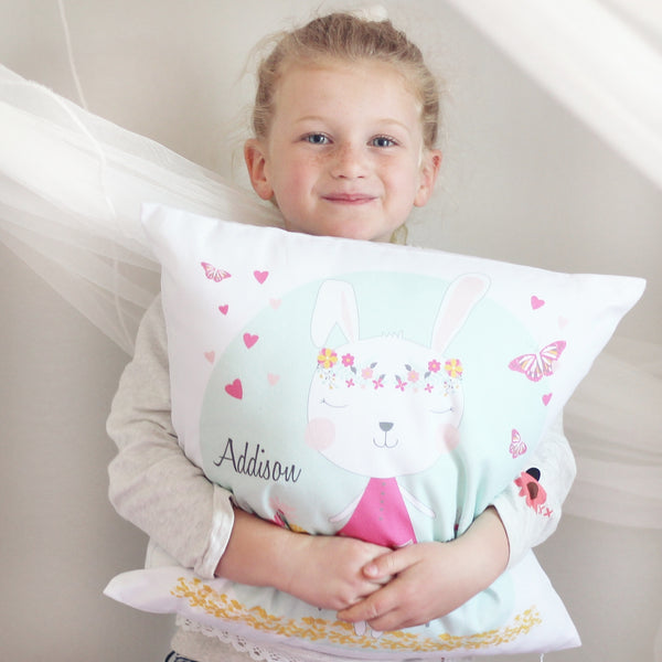 kids and baby's personalised cushion - Happy Joy Decor