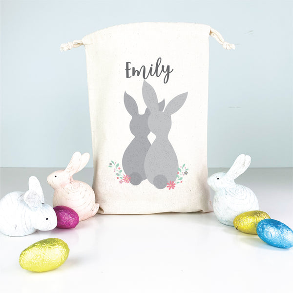 Kids personalised Easter egg bags - Happy Joy Decor