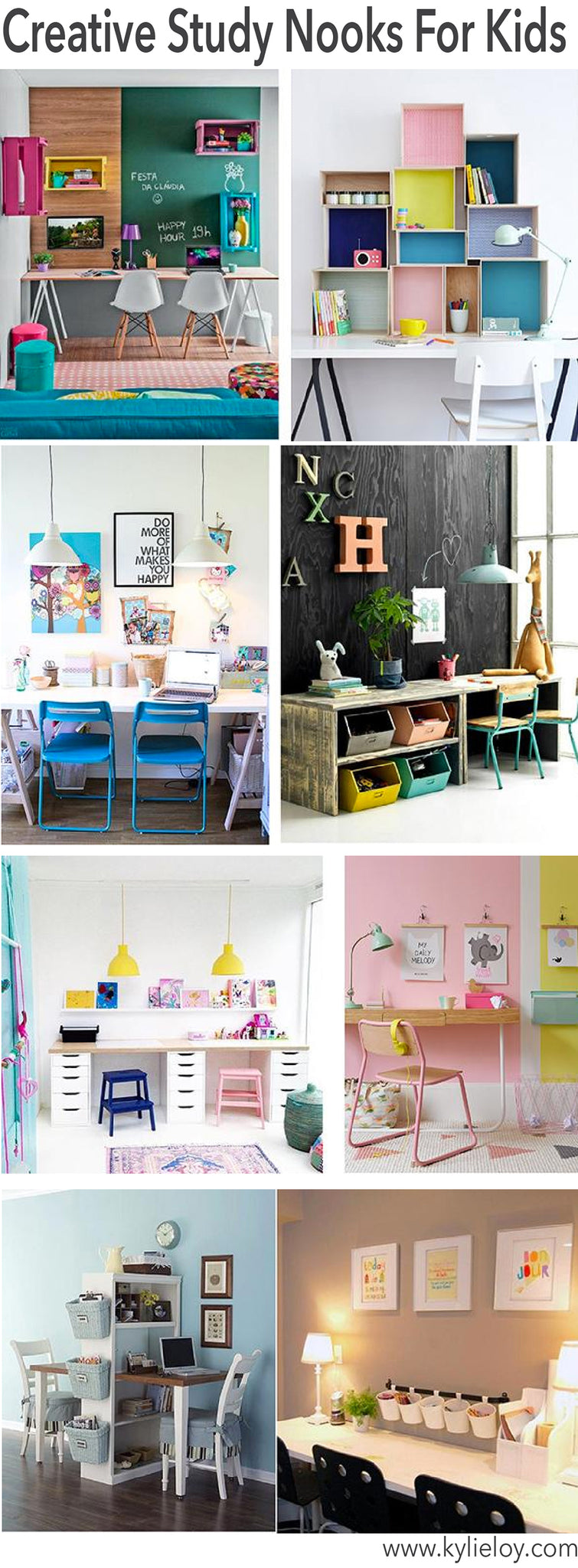 creative Study nooks for kids