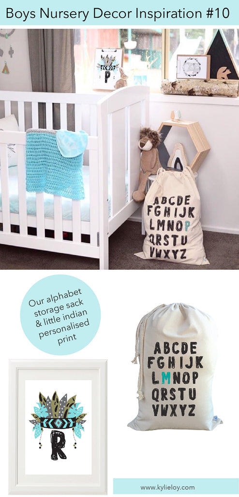 boys nursery decor inspiration