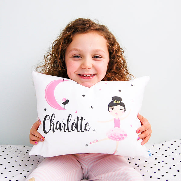 Kids personalised cushions for bedroom & nursery
