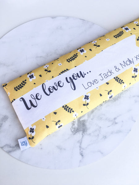 personalised heat packs for mothers day gifts