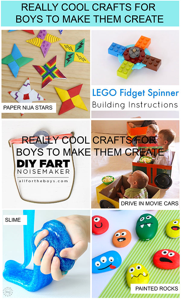 Really Cool Crafts For Boys To Make Happy Joy Decor
