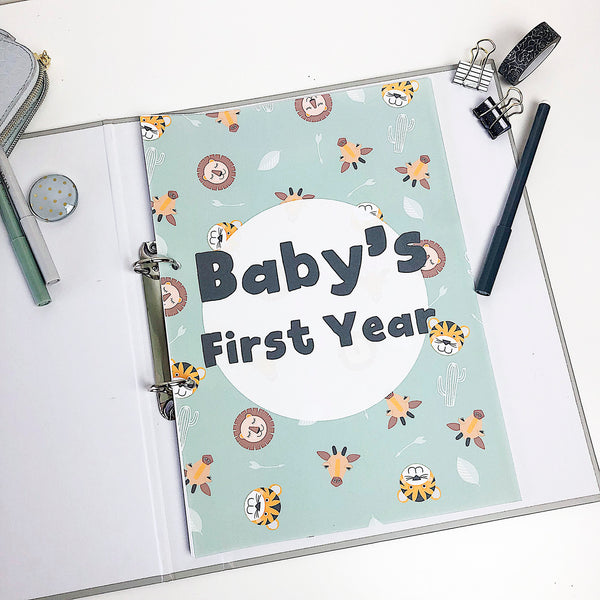 The easy way to create your baby's journey when you didn't start it or finish it - Happy Joy Decor