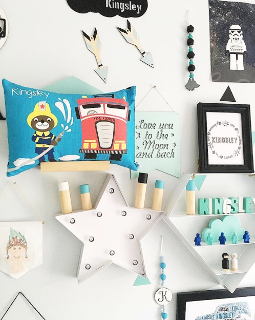 gorgeous boys decor styling for their bedroom