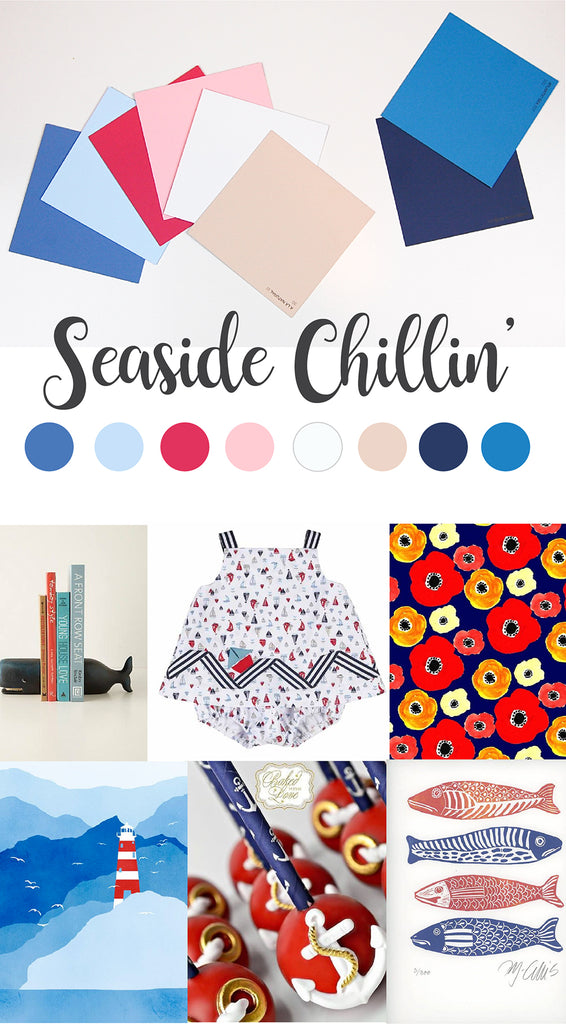 spring summer 2017 colour trends seaside chillin'