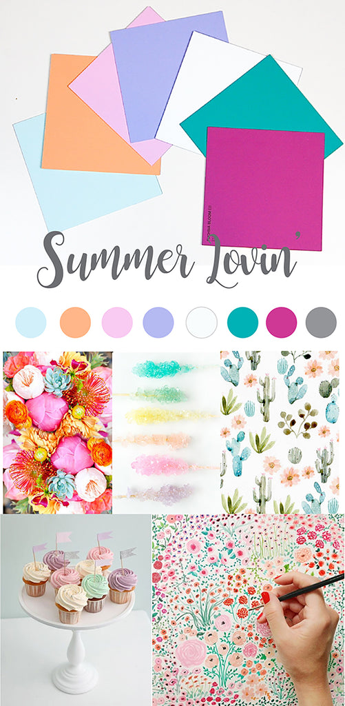 spring summer 2017 colours summer lovin'