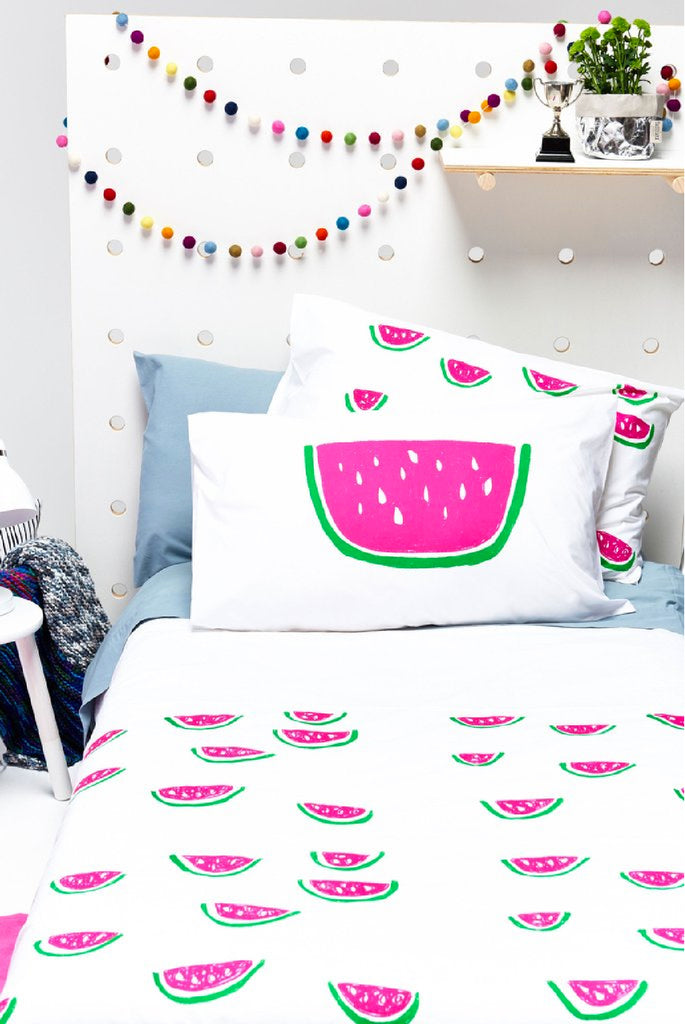 girls watermelon bedroom & nursery decor