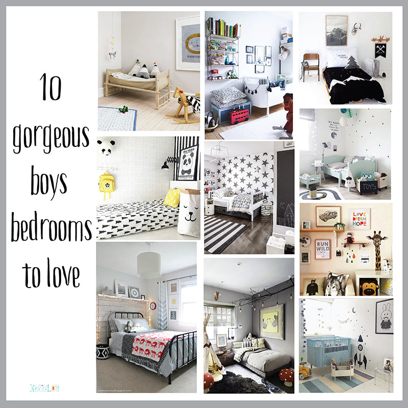 10 boys gorgeous bedrooms to love