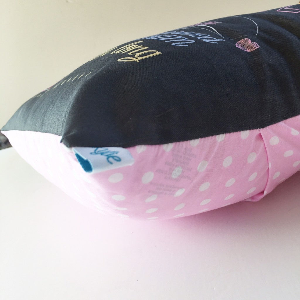 personalised birth cushions