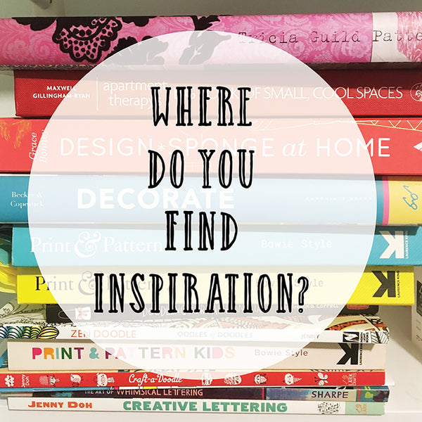 5 places to find creative inspiration