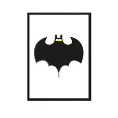 Batman Boys Personalised Birth Wall Art Nursery Print