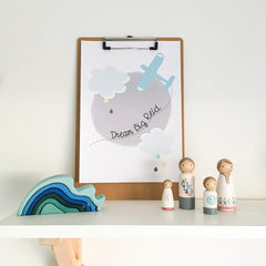 Dream Big Personalised Print - Happy Joy Decor