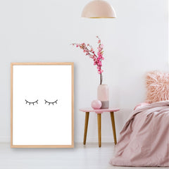 Eyelash Printable Wall Art - Happy Joy Decor