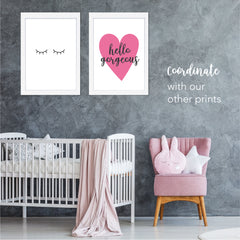 Eyelash Printable Wall Art