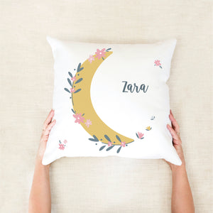 moon personalised girls cushion - Happy Joy Decor