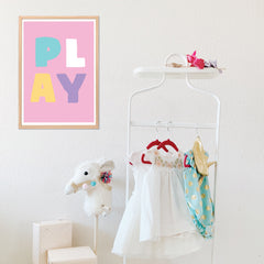 Play Instant Download Wall Art Print