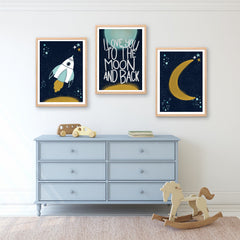 Moon Printable Art - Happy Joy Decor