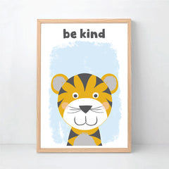 Be Happy Silly Kind Safari Animal Print Set - Happy Joy Decor