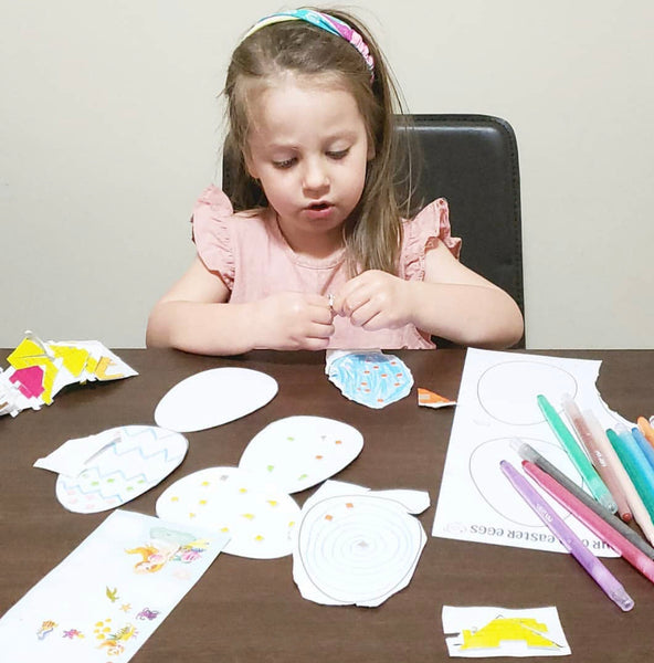 Easter Colouring & DIY Activity Pack - Happy Joy Decor